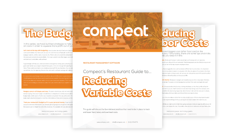 Compeat's Guide to Reducing Variable Costs